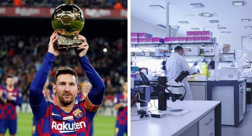 Show de bola Messi doa R 55 milhões para pesquisas sobre o coronavírus