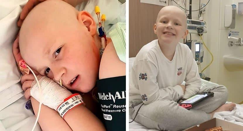 2Menino de 9 anos se cura de câncer raro e agressivo no fígado