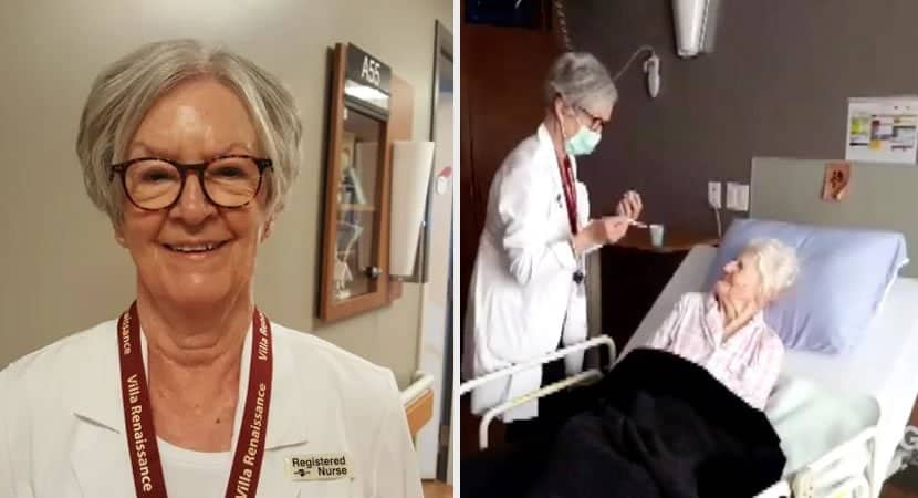 enfermeira aposentada