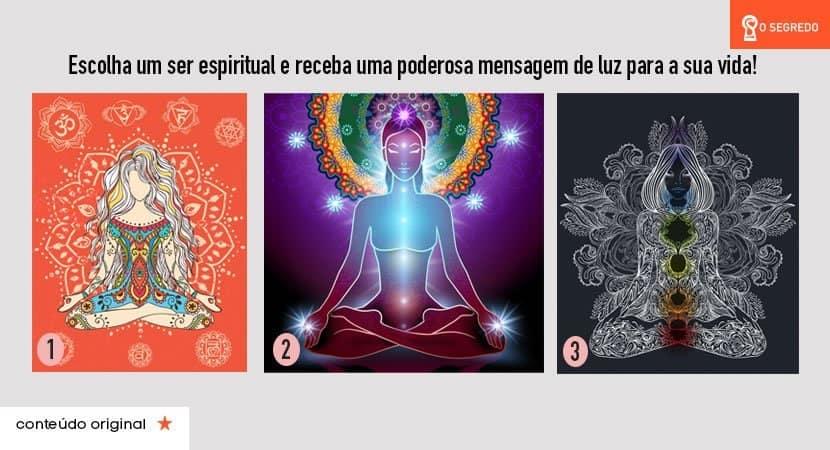 escolha um ser espiritual