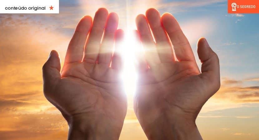 a poderosa mão de Deus