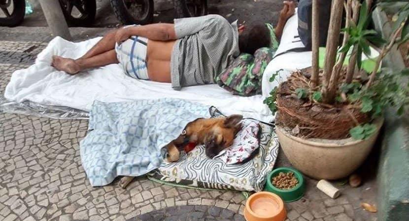 morador de rua fez