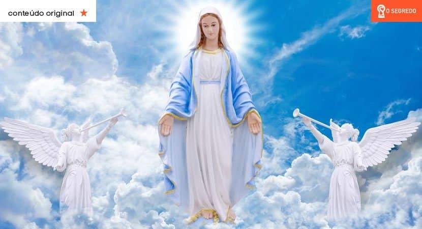 Oração à Virgem