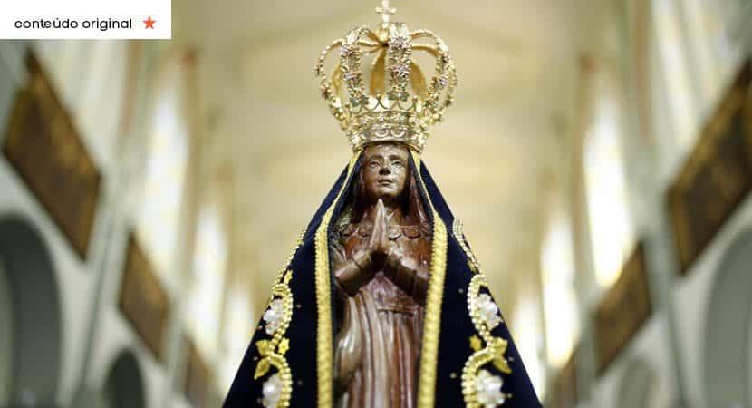 Descanse pois Nossa Senhora o abençoará com saúde e vitórias