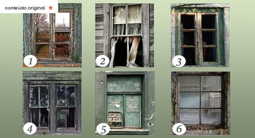 Escolha uma janela e descubra como superar os seus maiores medos
