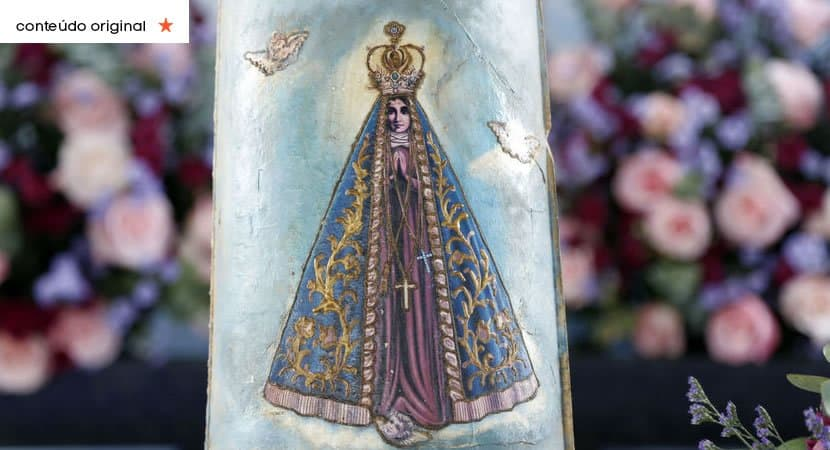 Nossa Senhora Aparecida a santa do coração dos brasileiros