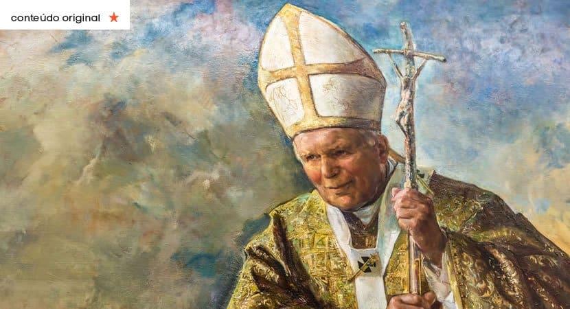 São João Paulo II rogai por nós e guie nos no caminho da fé