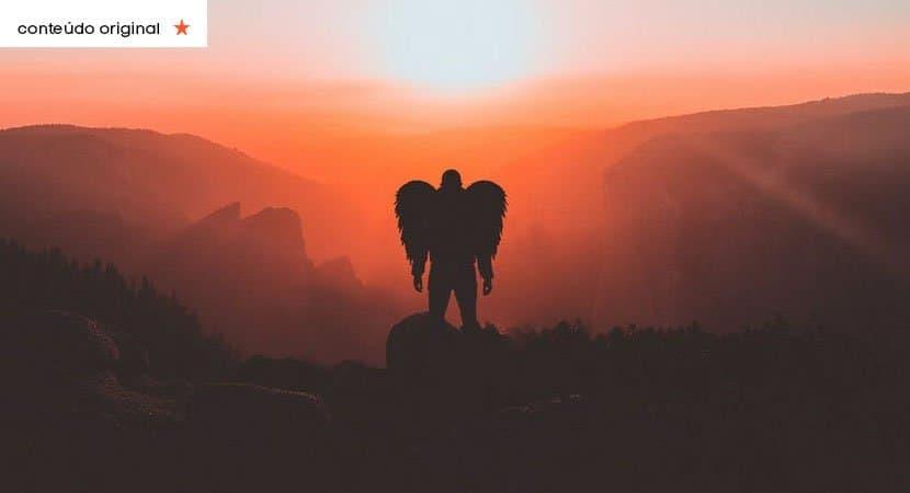 deus te diz hoje um anjo te entregará uma grande bênção. Receba a