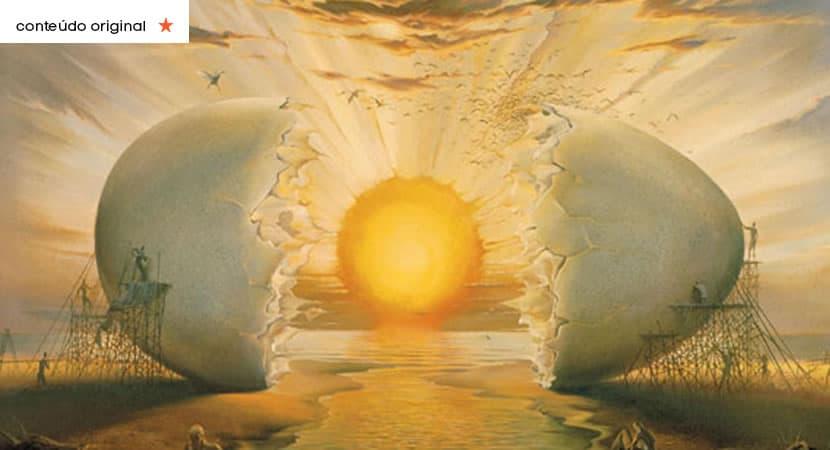 o que você viu primeiro na imagem revelará a energia que te domina