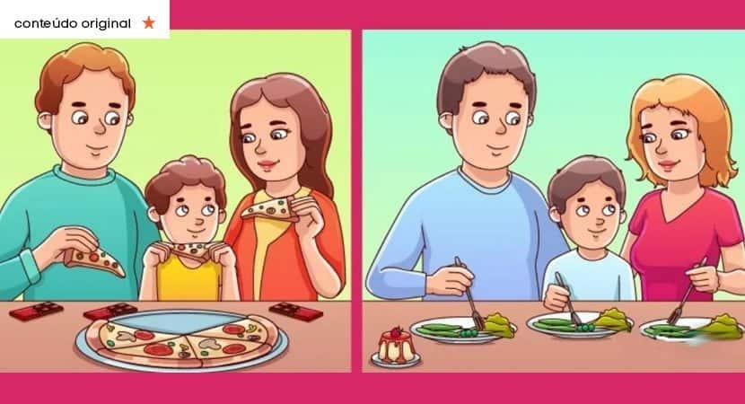 qual dessas famílias é a mais rica Responda e revele seu poder de observação