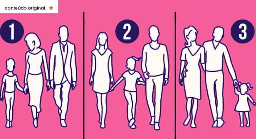 qual dessas famílias é a mais unida Teste suas habilidades lógicas