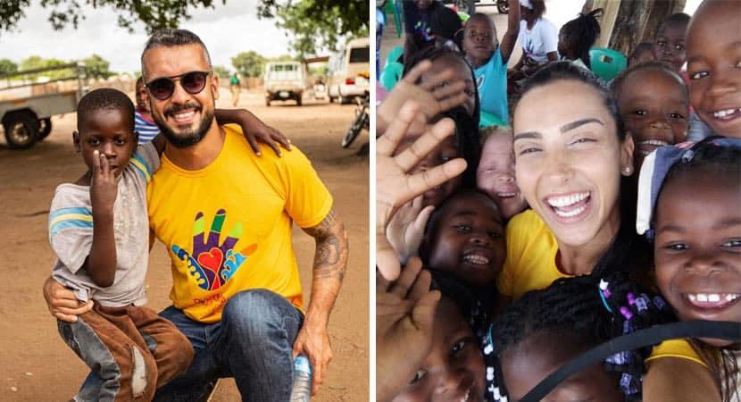 Casal desiste de festa casamento dos sonhos para construir escola na África
