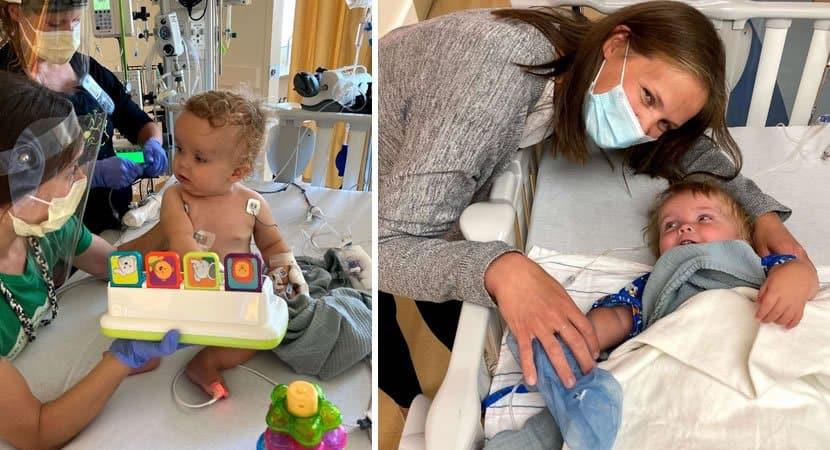 Em gesto de amor enfermeira doa rim para menino de 1 ano com doença rara e salva sua vida