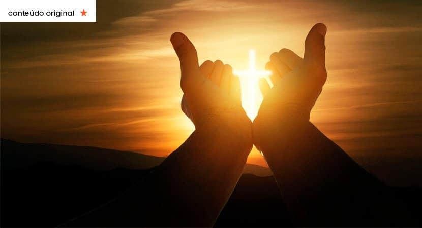 Jesus Cristo reine sobre minha vida e faça me instrumento do seu amor