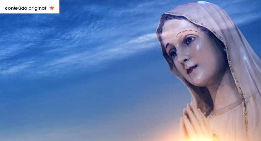 O amor de Maria está passando em sua casa e sua vida Receba em nome de Jesus