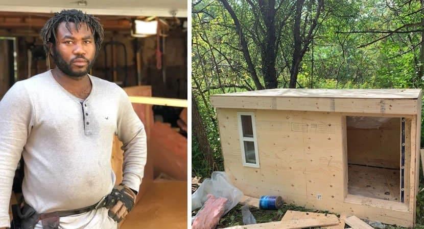 capaEste carpinteiro constrói e doa abrigos para sem tetos se protegerem do frio