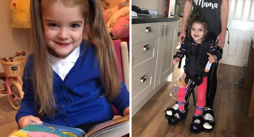 capaanjo da guarda homem desconhecido paga cirurgia de R500 mil para menina com paralisia poder andar