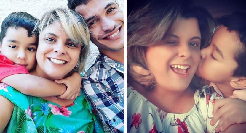 capaapós mãe biológica rejeitar filho autista madrasta consegue adotá lo e comemora