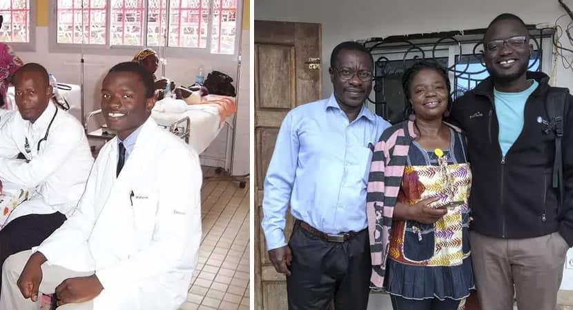 jovem africano foi da extrema pobreza a Harvard hoje ele pode ajudar a sua família