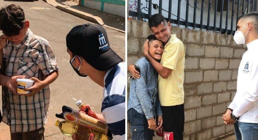 menino de 13 anos que cantava na rua para comprar comida ganha casa nova e chora de emoção2