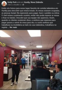 3clientes de restaurante se levantam e trabalham de graça para ajudar funcionário que estava sozinho