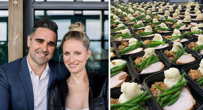 capacasal alimenta pessoas necessitadas com dinheiro de buffet de casamento atitude nobre