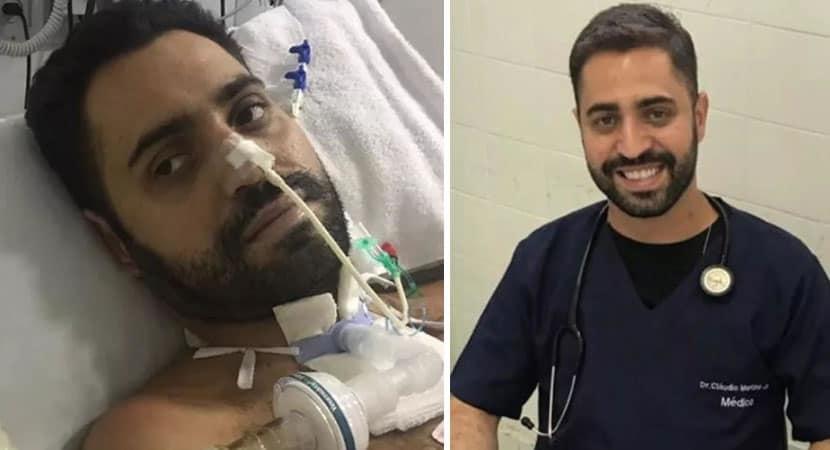 capamédico que passou 30 dias em coma por covid volta a atender Exemplo de coragem e compromisso