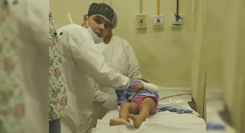 capamédico usa próprio carro para salvar bebê de um ano que precisava de cirurgia é criticado