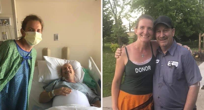 capaprofessora doa rim para zelador de escola onde trabalha e salva a sua vida