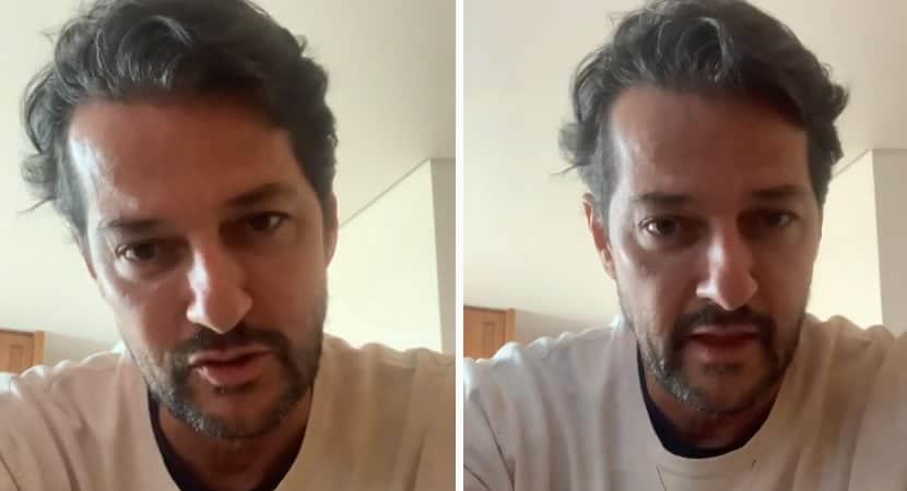 em vídeo ator Marcelo Serrado fala sobre crises de ansiedade na pandemia Sensação de morte