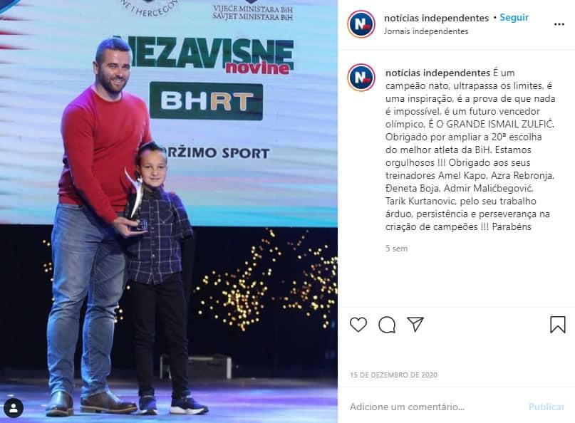 2menino de 10 anos que nasceu sem os bracos se supera na natacao e ganha titulo de atleta do ano