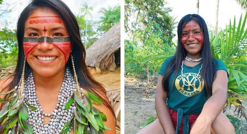Jovem indigena do Amazonas e sucesso no TikTok com mais de 2 milhoes de seguidores foto 2