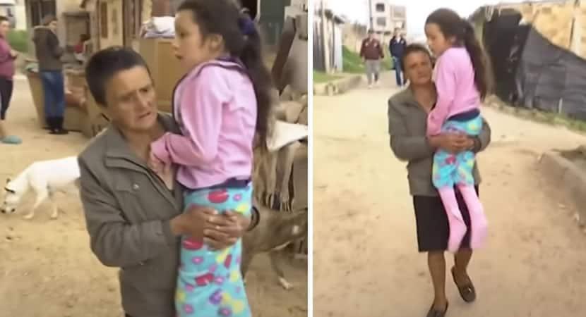 capaapos roubarem cadeira de rodas de neta avo de 73 anos a carrega nos bracos todos os dias1