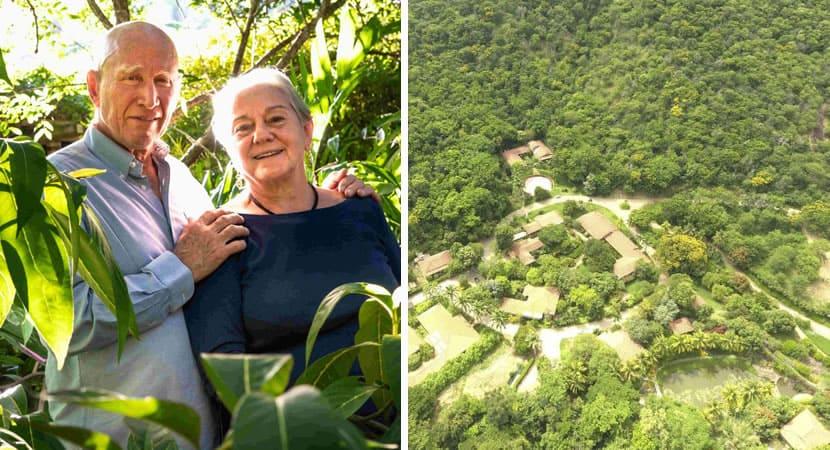 capacasal brasileiro recupera floresta com tamanho de 1000 campos de futebol e mostra antes e depois