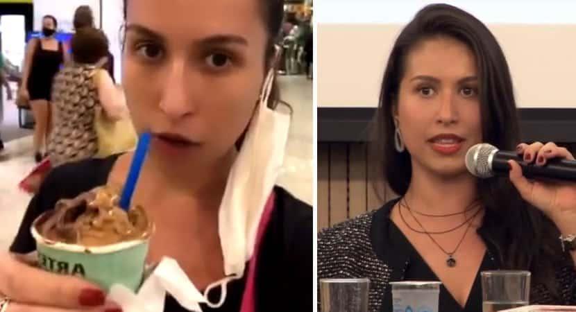capajuíza grava vídeo tutorial de como andar sem máscara no shopping e gera polêmica 1