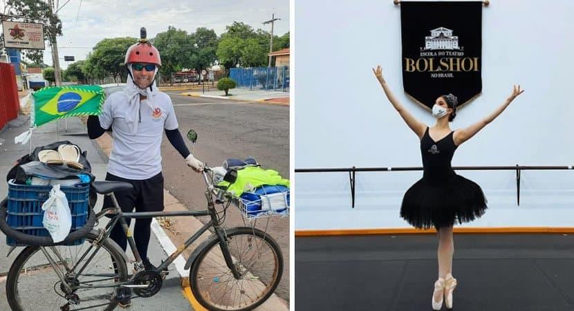 capapai que fez promessa pela vida da filha pedala mais de 1000km para ver sua formatura valeu a pena
