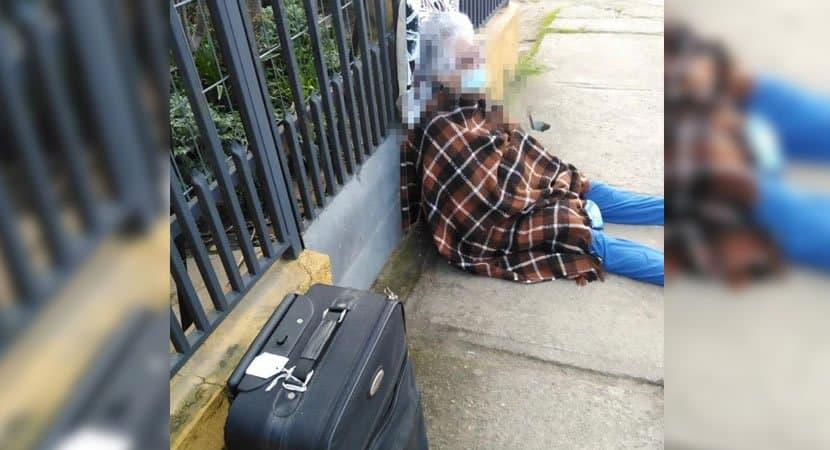 capasenhora de 76 anos é expulsa de casa e abandonada na rua por filha durante pandemia