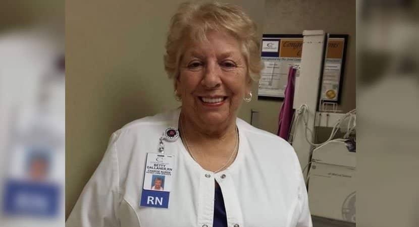 enfermeira com carreira de 50 anos que recusou aposentadoria morre de covid 19 Vivia para isso