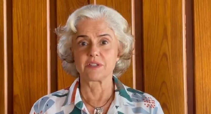 marieta Severo relata medo e panico ao enfrentar Covid 19 e encoraja vacinacao