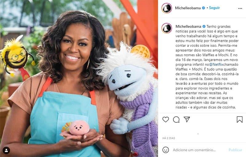 2michelle Obama lancara programa de culinaria infantil na Netflix Sucesso garantido