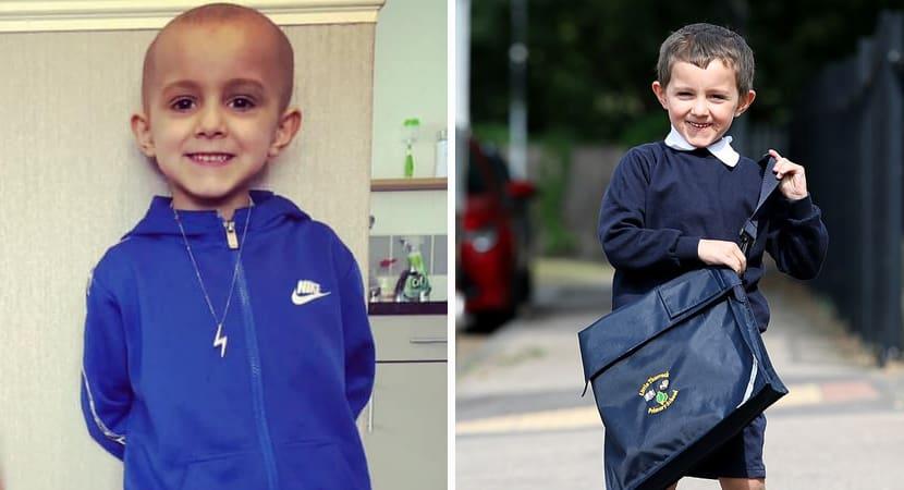 Capa Crianca de 5 anos com cancer espalhado pelo corpo conseguiu se curar Ele e nosso milagre