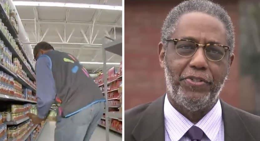 capadiretor de escola trabalha a noite no Walmart e doa salario a alunos necessitados Grande coracao