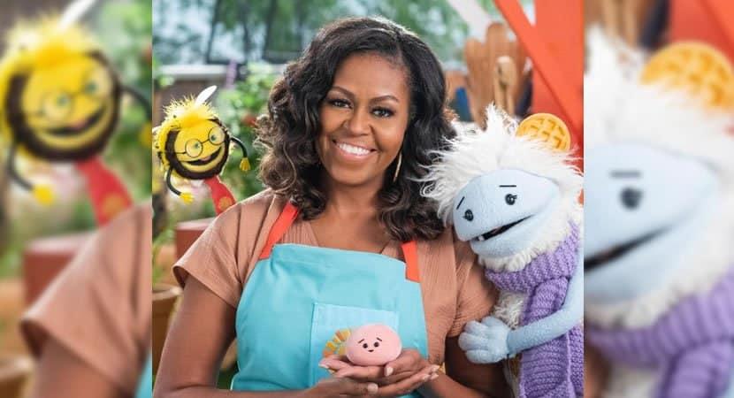 capamichelle Obama lancara programa de culinaria infantil na Netflix Sucesso garantido