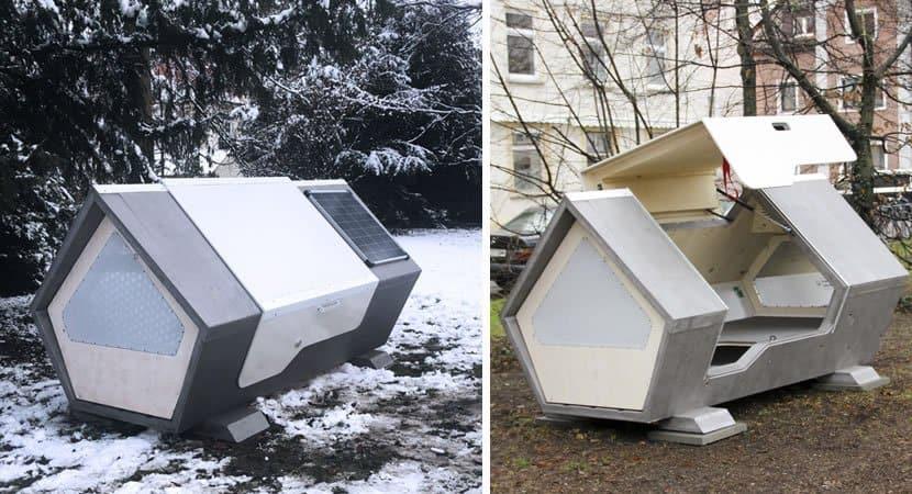 capapessoas se unem e constroem casas termicas para moradores de rua nao passarem frio