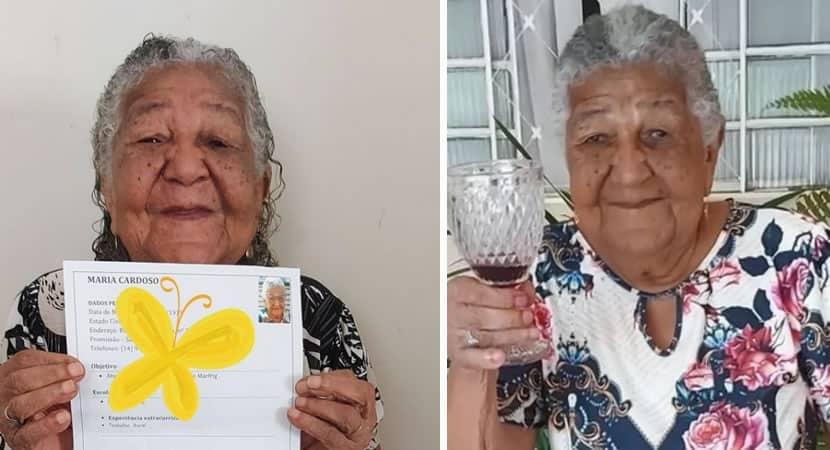 capavovo de 101 anos que viralizou ao entregar curriculo e chamada para ser influencer de marca de vinhos