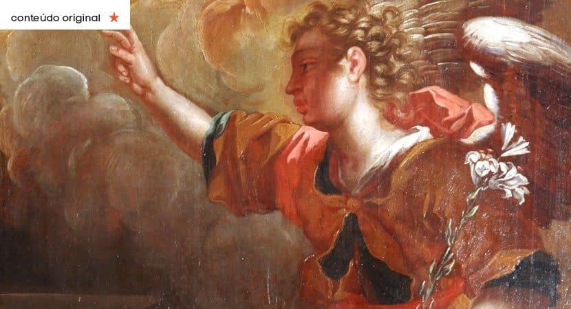 o anjo Gabriel esta passando por sua vida e fazendo tudo novo Voce sera muito feliz