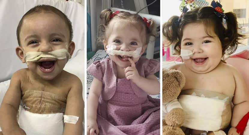 vitoria Criancas de 1 ano conseguem fazem transplantes de coracao apos meses de espera