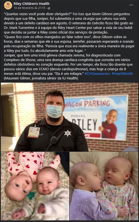 1 4 Pai se torna seguranca do hospital que salvou a filha Senti que tinha que pagar uma divida