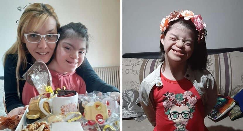 1 capa Menina com Sindrome de Down abandonada em asilo com apenas 2 anos consegue ser adotada 1
