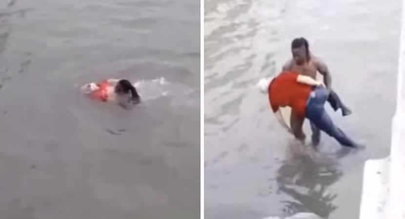 2 capa Homem se lanca em rio para salvar idoso que estava se afogando Faria tudo de novo